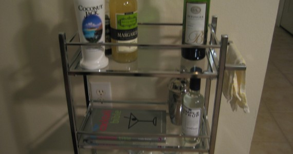 The final bar cart!