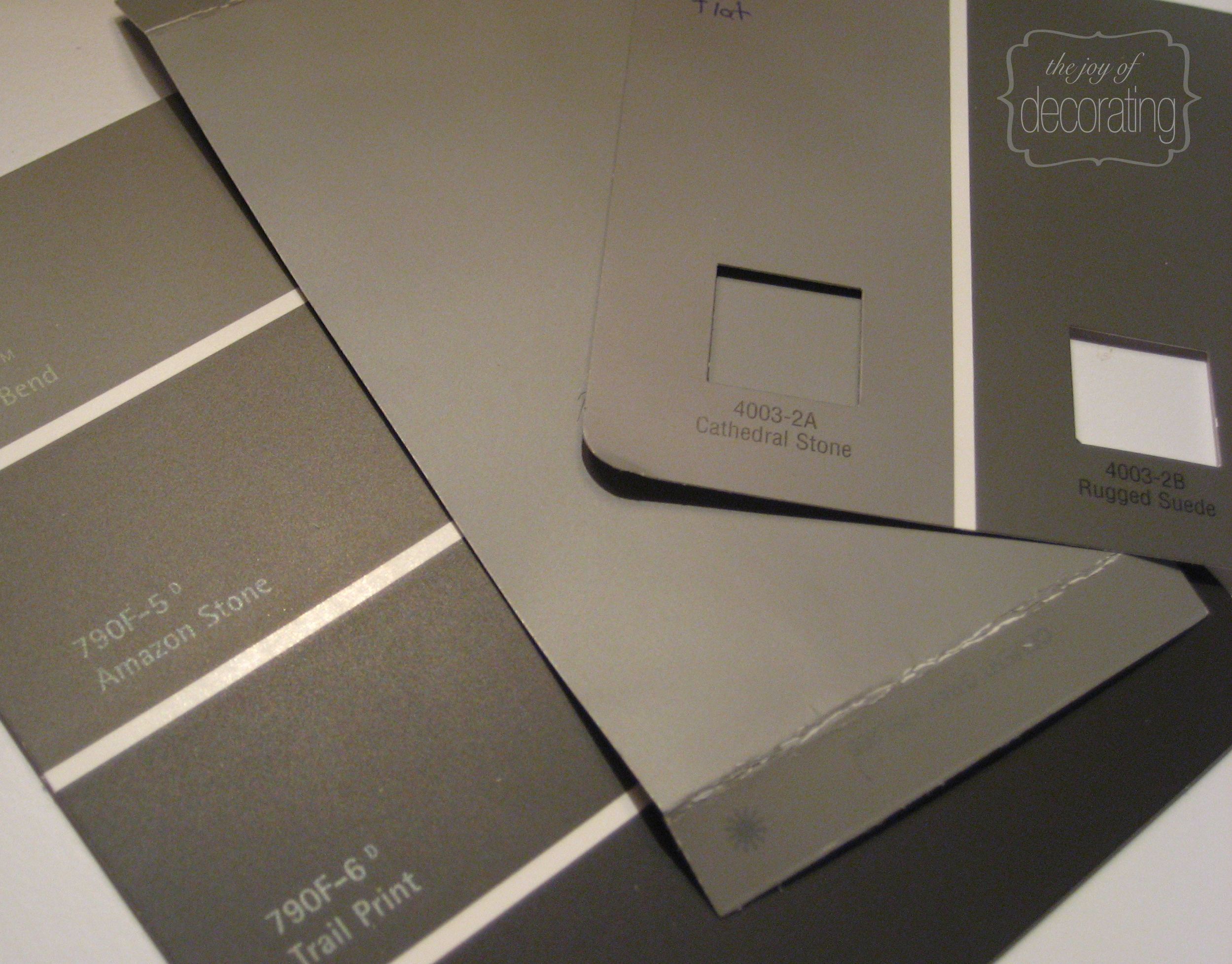 Martha Stewart Cement Gray Paint Colors : Thejoyofdecorating a about home decor