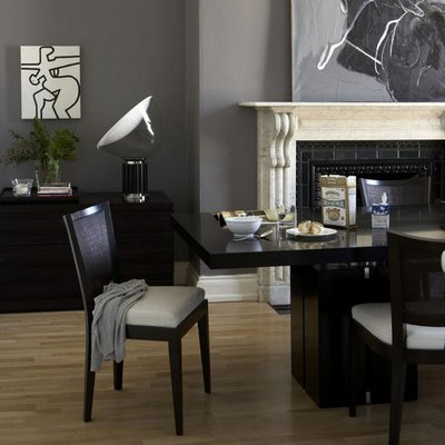 Living Room Design Pictures on Much Darker Gray Room But With The White Fireplace The Wall Color
